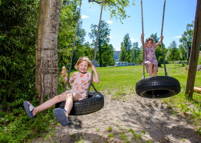 Lekeplass på campingen